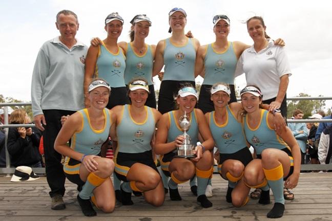APS Girls' Rowing Fastest Crews